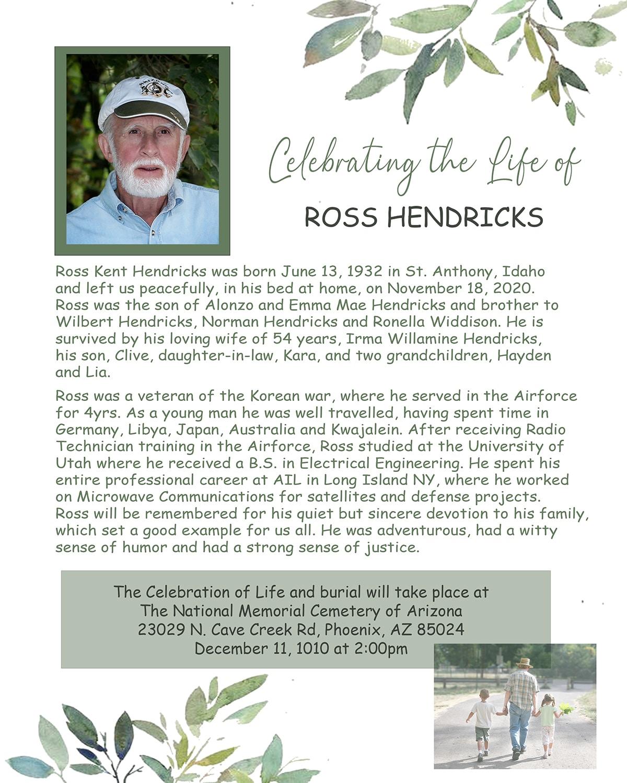 Ross Kent Hendricks