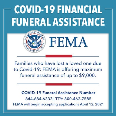 FEMA Offering Assistance for COVID-19 Related Funeral Expenses
